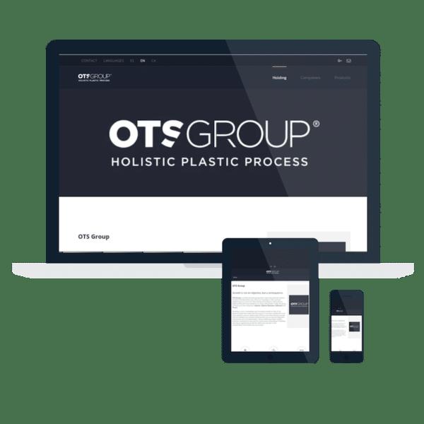 Página web Ots Group