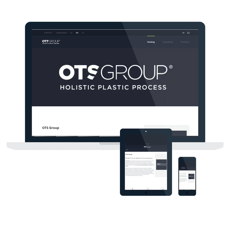 Página web Ots Group