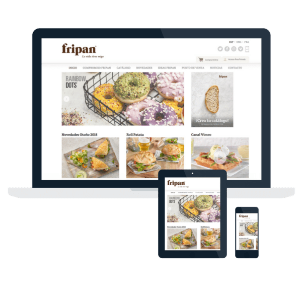 Página Web Fripan