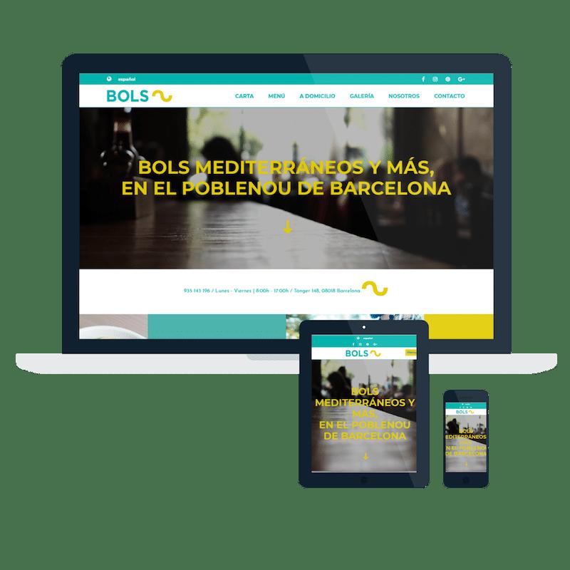 Página web Bols Barcelona